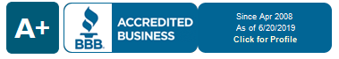 BBB Accredited since 2008