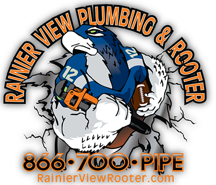 Rainier View Rooter Logo